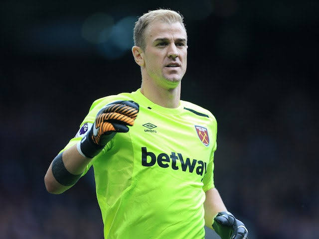 Image result for joe hart""
