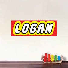 Custom Kids Bedroom Font Wall Decal Name For Boys Room Custom Boys Name Wall Decal Personalized Wallpaper Primedecals