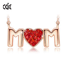 cde women gold necklace pendant jewelry
