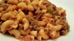 easy beef macaroni recipe food