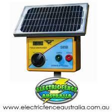 Solar Powered Energisers Electric Fence Australia
