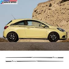 Racing Sport Waist Lines Stripes For Opel Corsa 3 5 Doors Car Styling Body Decor Sticker Auto Accessories Protect Vinyl Decal Car Stickers Aliexpress