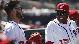 Dusty Baker says only 'young fools' dare give Bryce Harper pitches ...