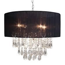cafe lighting reign black chandelier i
