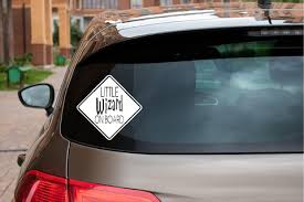 Baby On Board Car Decals Redhead Expressions