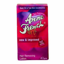anne french hair removal lotion
