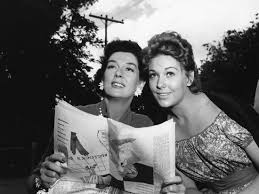 PICNIC, 1956 directed by JOSHUA LOGAN Rosalind Russell and Kim ...