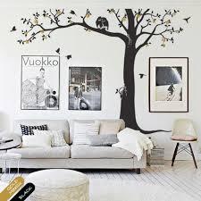 Tree Wall Decal Nursery Decor Mural Owl Blossoms Tree Sticker Kr081 Studioquee On Artfire