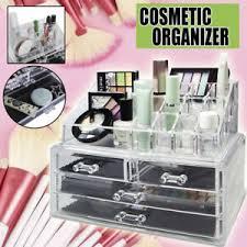 4 drawer cosmetic makeup organizer case