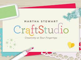 Martha Stewart Craftstudio App Store
