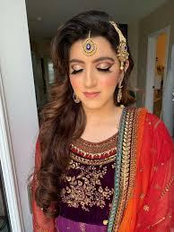 indian stani bridal makeup and
