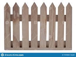 Wooden Fence Panel Isolated On White Stock Image Image Of White Wood 172763803