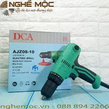 Máy khoan vặn vít dùng điện DCA AJZ08-10