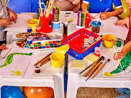 Interior Of Art Game Room In Kids Preschool Kindergarten Stock Photo Picture And Royalty Free Image Image 51120482