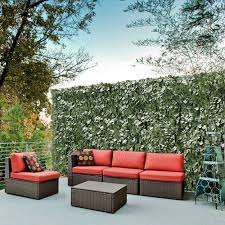59x196 Faux Ivy Leaf Artificial Hedge Fencing Privacy Fence Screen Decorative 657258047877 Ebay