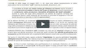 Pillole CDL inail e lavoro agile on Vimeo