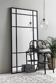 nordal spirit iron wall mirror with