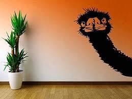 Amazon Com Ostrich Wall Decal Ae948 Handmade