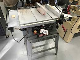 Craftsman 10 Table Saw 2 7 Max Hp Extensions Rip Fence Blade Guard Online Multi Estate Including Schwettmann Estate Plus Others Texasbid