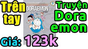 Trên tay truyện tranh Doraemon dày đọc mỏi mắt không hết - YouTube