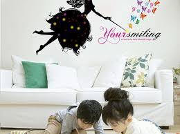 Fairy Tale Wall Decals Unicorn And Forest Design Princess Dust House Vamosrayos