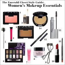 women s makeup essentials the emerald