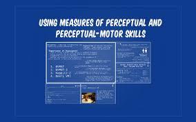 perceptual motor skills