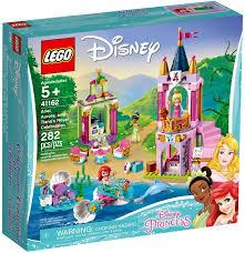 LEGO Disney Princess 41162 Lâu đài Nàng tiên cá Ariel, Công chúa ...