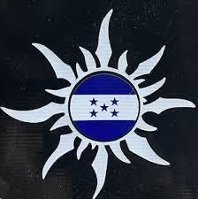 Honduran Sun Honduras Flag Car Decal Sticker Ebay