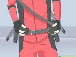 3 ways to make a deadpool costume wikihow