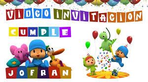 Pocoyo Invitacion Animada 2018 Youtube