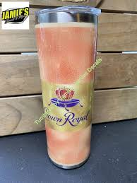 Crown Peach Inspired 20 Skinny Tumbler Made To Order Personalized J Jamies Decals
