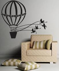 Vinyl Wall Decal Sticker Doves And Hot Air Balloon Os Dc645 Stickerbrand