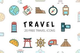 tourism vector free icon set deszone net