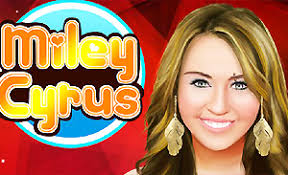 free dress up miley cyrus games