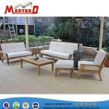 china garden sofa metal frame rattan