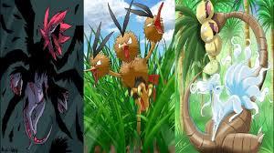 Top 6 Pokemon 3 đầu trong Thế Giới Pokemon - YouTube