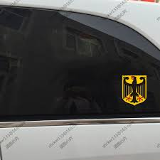 German Coat Of Arms Eagle Germany Decal Sticker Car Vinyl Reflective Glossy A Pick Size High Quality Buy At The Price Of 1 50 In Aliexpress Com Imall Com