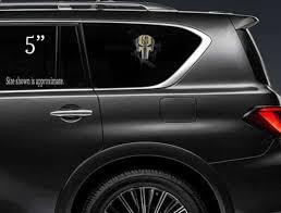 Hockey Nhl Vegas Golden Knights Punisher Skull Vinyl Decal Sticker For Car Truck Boat Wall Sports Mem Cards Fan Shop Cub Co Jp