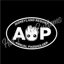 Motors Car Truck Decals Emblems License Frames Disney Disneyland Resort Annual Passholder Vinyl Car Decal Decals Sticker Window Car Truck Decals Stickers Car Truck Parts Szalonefotki Pl
