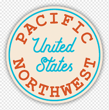 Pacific Northwest Decal Logo Northwestern United States Sticker Pacific Northwest Text Computer Car Png Pngwing