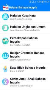 belajar bahasa inggris for android apk