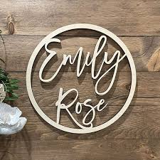 The Best Baby Name Signs For Your Nursery The Greenspring Home
