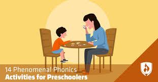 phonics activities for preers