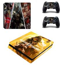 Mortal Kombat Ps4 Slim Skin Sticker Decal For Playstation 4 Console And Controller Skin Ps4 Slim Sticker Vinyl Stickers Aliexpress