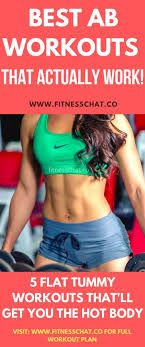 how to lose belly fat best ab workouts
