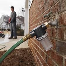 garden hose inlet filter attachment 40