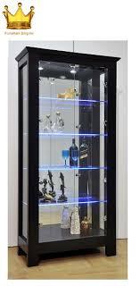 qoo10 display cabinet furniture deco