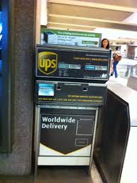 Where can I drop off UPS packages ...