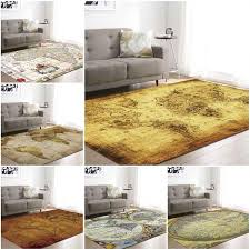 Large World Map Area Rug Vloerkleed Rugs For Bedroom Kids Baby Play Crawling Mat Memory Foam Carpet Living Room Home Decorative Plush Carpet Tiles Buy Rug From Fugao001 30 55 Dhgate Com